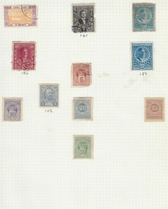 montenegro stamps page ref 16855