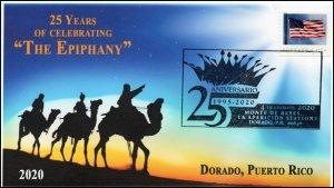 20-007, 2020, 25th Anniversary , Pictorial Postmark, Event Cover, Dorado Puerto
