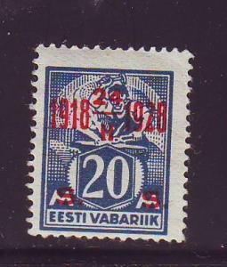 Estonia Sc 88 1928 20 s 10 yrs Independence stamp