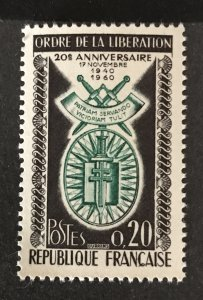 France 1960 #977, MNH