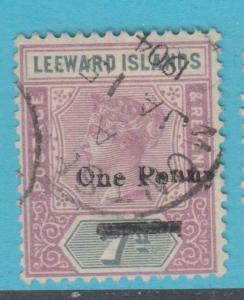 LEEWARD ISLANDS 19  USED NO FAULTS EXTRA FINE