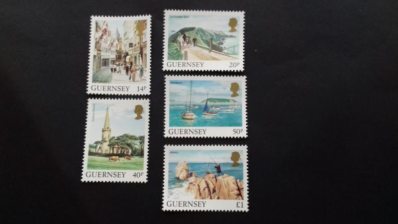 Guernsey 1984 Daily Stamps Mint