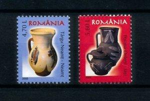 [101068] Romania 2005 Definitives ceramics pottery  MNH
