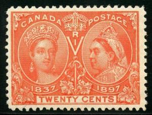 CANADA SILVER JUBILEE QUEEN VICTORIA SCOTT#59  XF MINT NH