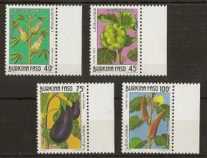 Burkina Faso 1994 Vegetables MNH
