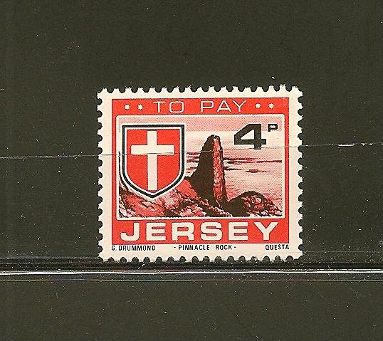 Jersey J24 Postage Due Mint Hinged