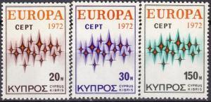 Cyprus #380-82  MNH  CV $5.95  (A19918)