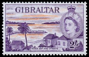 Gibraltar Scott 142 (1953) Mint NH VF, C
