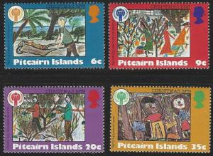 Pitcairn Islands #188-191 MNH Full Set of 4