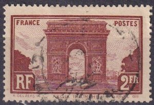 France #263  F-VF Used  (S10281)
