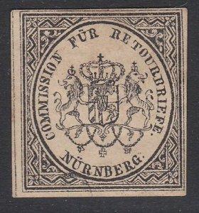 GERMANY Retourbriefe - Returned Letter Stamp - an old forgery - Nurnberg....B234