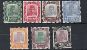 TRENGGANU  1921 - 41   VARIOUS VALUES TO 30C    MH