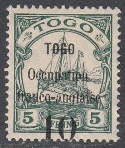 Togo 155 MH CV $25.00