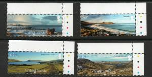 FALKLAND ISLANDS Landscapes superb marginal set MNH