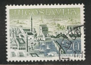 Yugsolvaia Scott 537 used 1959 stamp