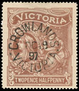 Australia / Victoria Scott B2 Gibbons 354 Used Stamp