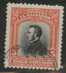 El Salvador Scott 404 Used from 1912 set