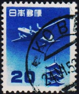 Japan. 1952 20y S.G.672 Fine Used