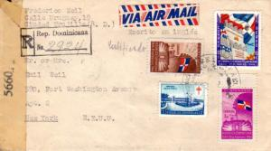 Dominican Republic 3c, 10c, and 10c Centenary of Independence and 1c Martos S...