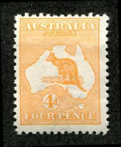 Australia Scott 6, Mint Hinged, kangaroo