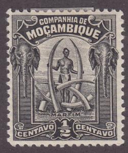 Mozambique Company 110 Elephant Tusks 1918