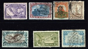 MEXICO STAMP USED STAMPS COLLECTION LOT #1