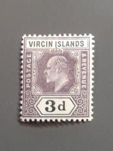 British Virgin Is. 33 F-VF MHR. Scott $ 6.00