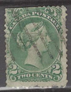 COLLECTION LOT # 3127 CANADA #24 FAULTY 1868 CV+$100