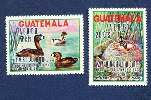 GUATEMALA  - Scott C448-C449 -FVF  MNH   - BIRDS - 1970