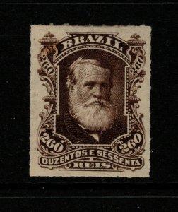 Brazil SC# 74, Mint Lightly Hinged, minor gum tone - S10146