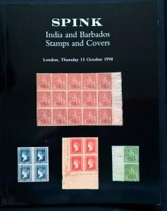 Auction Catalogue Classic INDIA & BARBADOS Stamps Covers