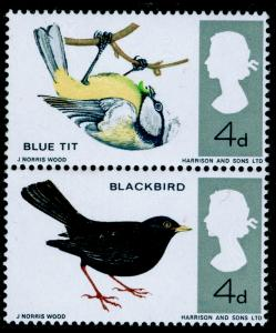 SG697g, 4d multi coloured, NH MINT. Cat £700. BRIGHT BLUE OMITTED.