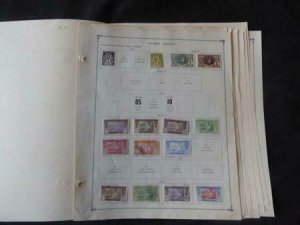 Ivory Coast 1892-1980 Stamp Collection on Scott International Stamp Album pages