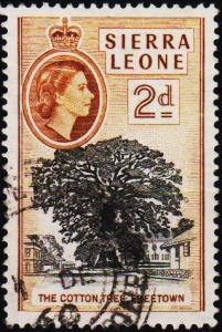 Sierra Leone. 1956 2d S.G.213 Fine Used