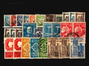 Portugal 28 Mint and Used, with faults - C1107