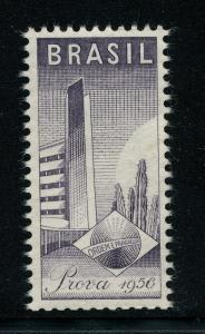 (E-2733) BRAZIL - MNH 1956 PROOF STAMP (PROVA)