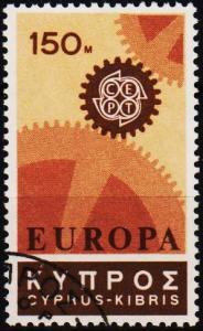 Cyprus. 1967 150m S.G.304 Fine Used