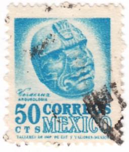 Mexico, Scott # 863(1), Used