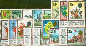 Trinidad & Tobago 1969 set of 16 SG339-354 V.F MNH