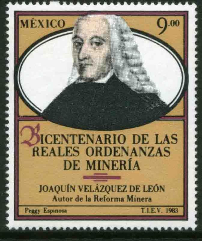 MEXICO 1343, Bicentenary of the Royal Mining Decree. MINT, NH. VF.
