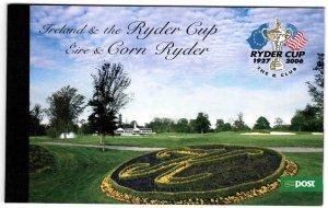 Ireland Scott 1628-1631 Ryders Cup Prestige booklet CV $28