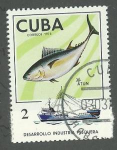 1975 Cuba Scott Catalog Number 1956 Used