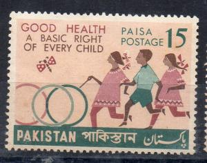 PAKISTAN - 1968 - GOOD HEALTH A BASIC RIGHT OF EVERY CHILD -