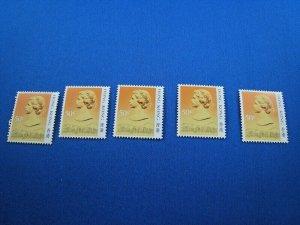 HONG KONG  -  SCOTT # 492  -  DEALERS LOT OF 5     MNH