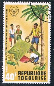 Togo 841 Used Boy Scouts (BP11010)
