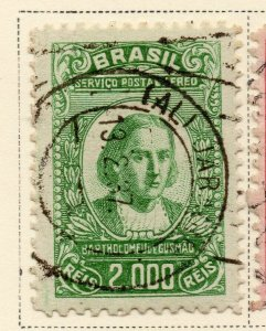 Brazil 1929-30 Early Issue Fine Used 2000r. NW-12102