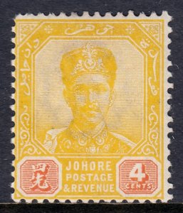 Malaya (Johore) - Scott #41 - MH - SCV $1.75
