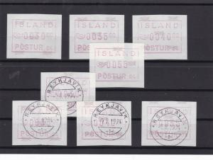 island ATM Automatic vending machine Stamps Ref 16039