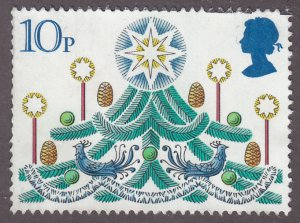 Great Britain 928 Christmas Tree 1980