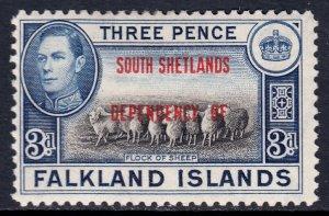 Falkland Islands - Scott #5L4 - MH - SCV $1.25